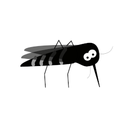 Icon of Futile Attempt of Killing Mosquito